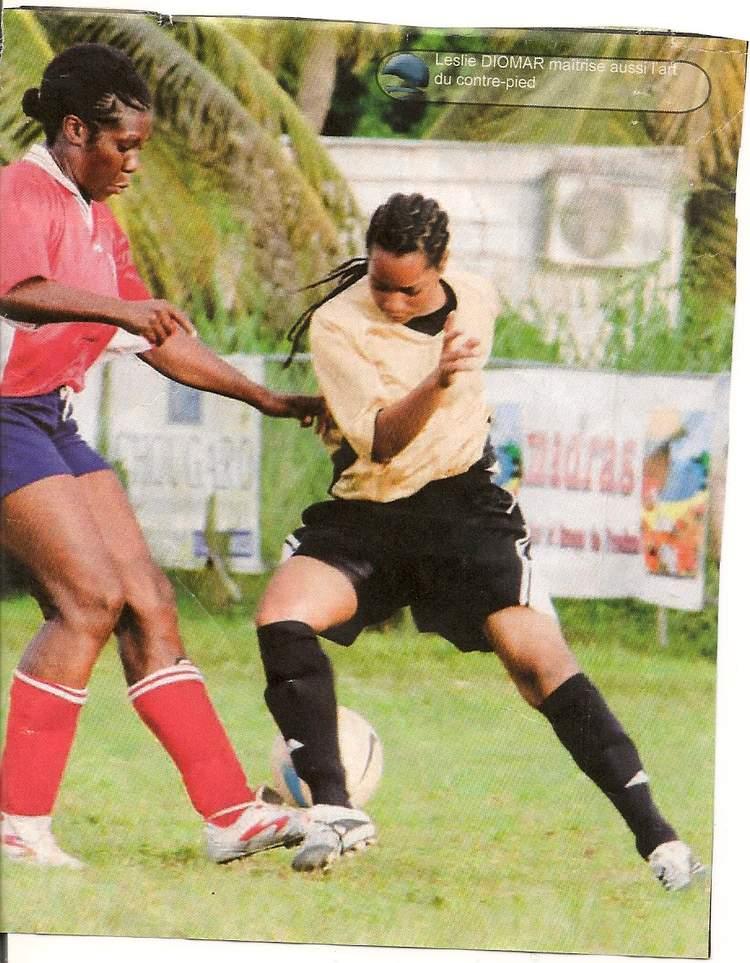 Leslie Diomar  - milieu droit du GL
