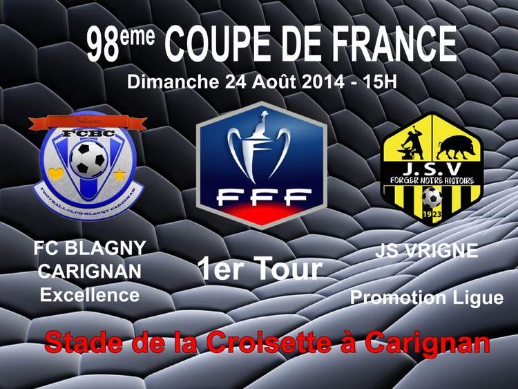 Actualit�� - 98��me Coupe de France - club Football JEUNESSE.