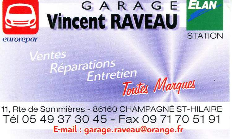 Garage Vincent RAVEAU