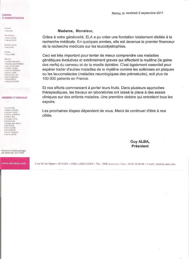 lettre remerciement partenariat