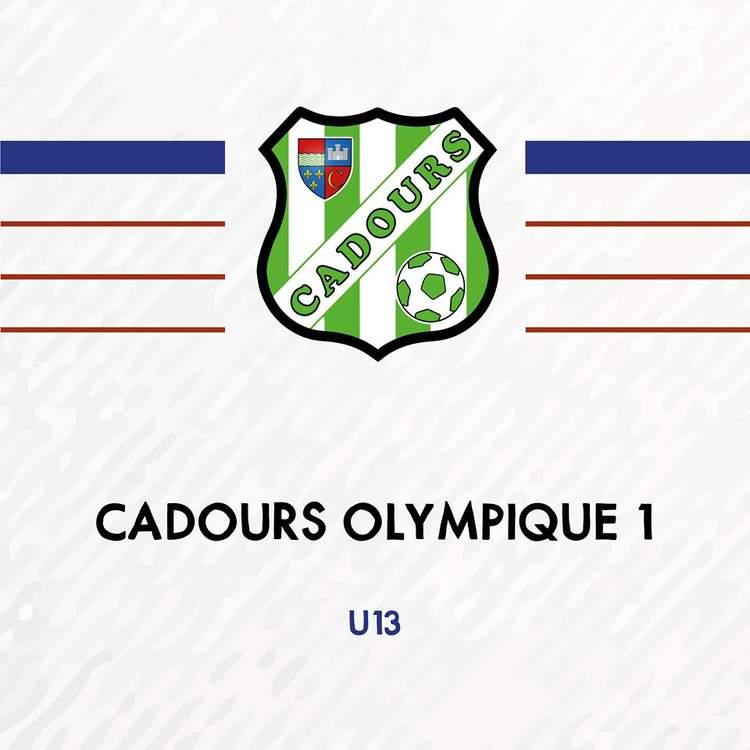 U13 - CADOURS OLYMPIQUE 1