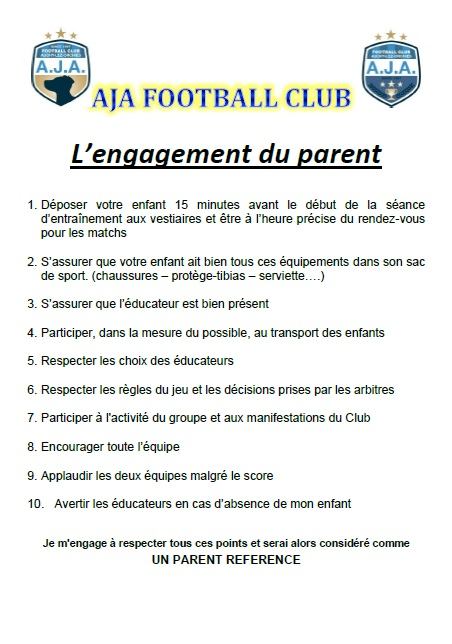 L'engagement du parent