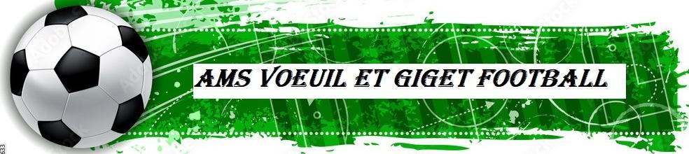 AM.S VOEUIL ET GIGET : site officiel du club de foot de VOEUIL ET GIGET - footeo