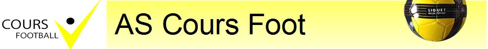 AS COURS-LA-VILLE FOOTBALL : site officiel du club de foot de COURS LA VILLE - footeo