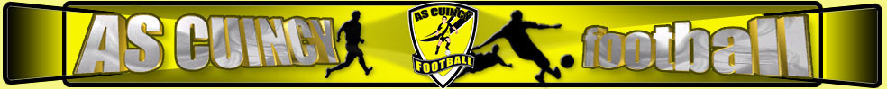 Site Internet officiel du club de football AS CUINCY FOOTBALL
