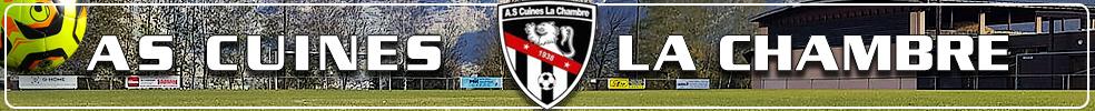 A.S Cuines La Chambre : site officiel du club de foot de ST ETIENNE DE CUINES - footeo