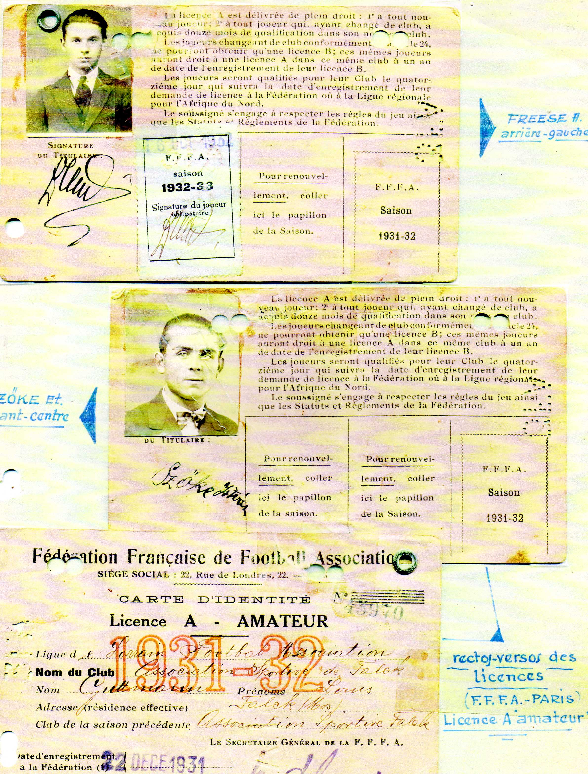 ancienne licence