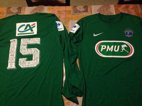 Actualit maillots coupe de france club football association sportive louchyssoise footeo - Coupe de france france 3 ...