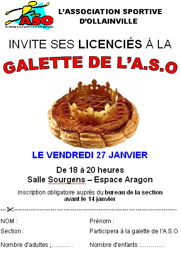 Galette 2012