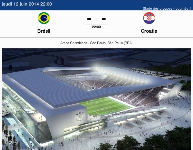 Brésil - Croatie