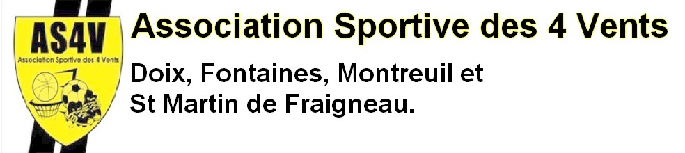 Association Sportive des 4 Vents : site officiel du club de foot de FONTAINES - footeo