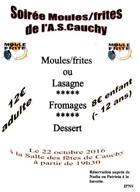 Soirée Moules/Frites de l'ASC
