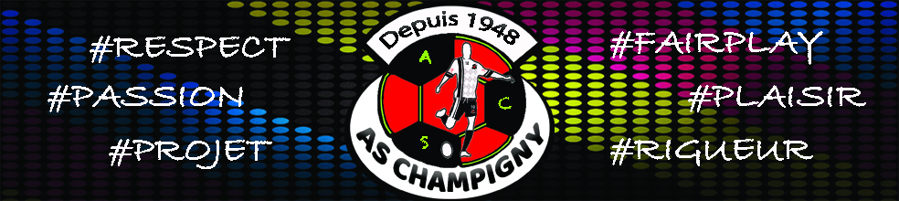 AS CHAMPIGNY : site officiel du club de foot de CHAMPIGNY - footeo