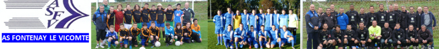 ASSOCIATION SPORTIVE FONTENAY LE VICOMTE : site officiel du club de foot de FONTENAY LE VICOMTE - footeo