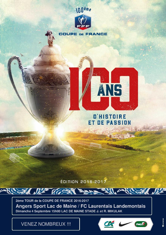 Affiche Coupe de France