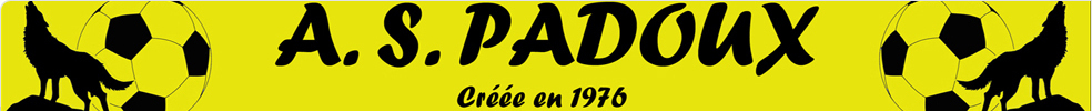 Association Sportive de PADOUX : site officiel du club de foot de PADOUX - footeo