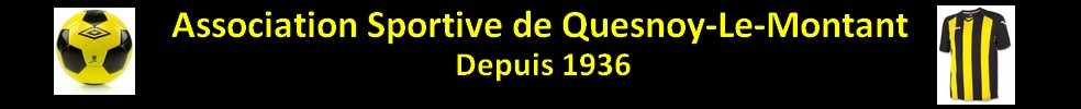 Association Sportive Quesnoy-le-Montant : site officiel du club de foot de Quesnoy-le-Montant - footeo