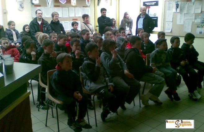 32 enfants ont participé au stage