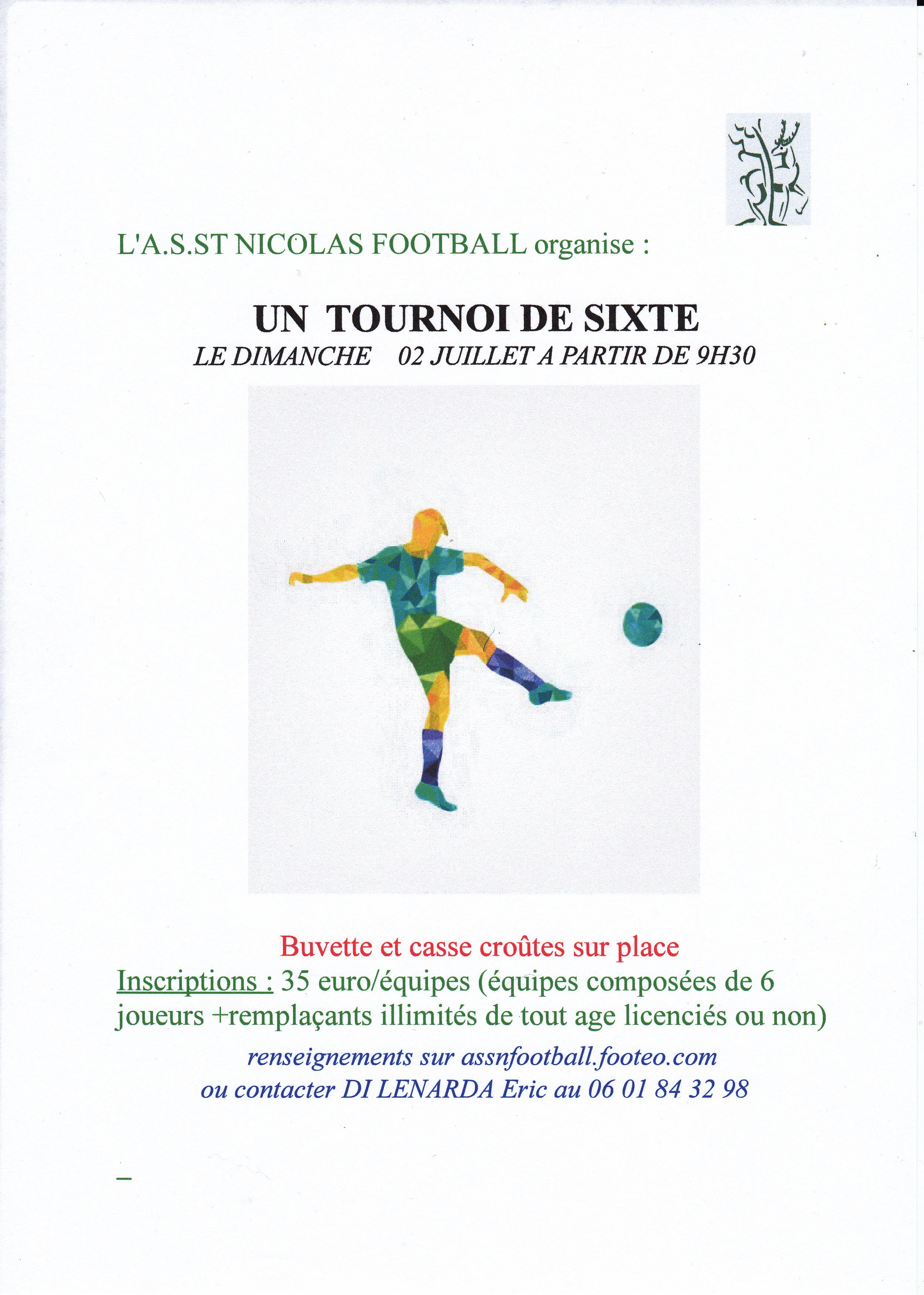 tournoi de sixte 2017