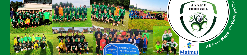 Association Sportive de Saint Pierre de Varengeville : site officiel du club de foot de ST PIERRE DE VARENGEVILLE - footeo