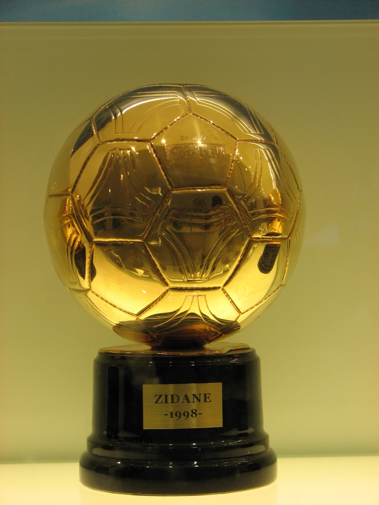 Ballon d'or Zidane