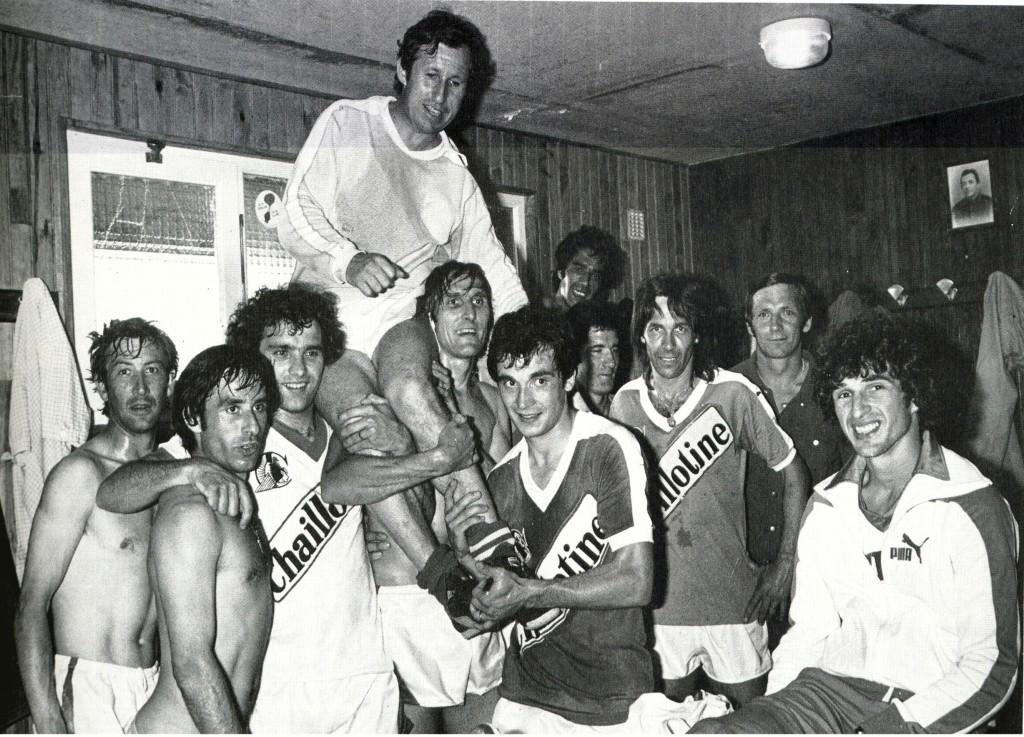 La Montée en 1ère divisions à l'issue de la saison 1979-1980
