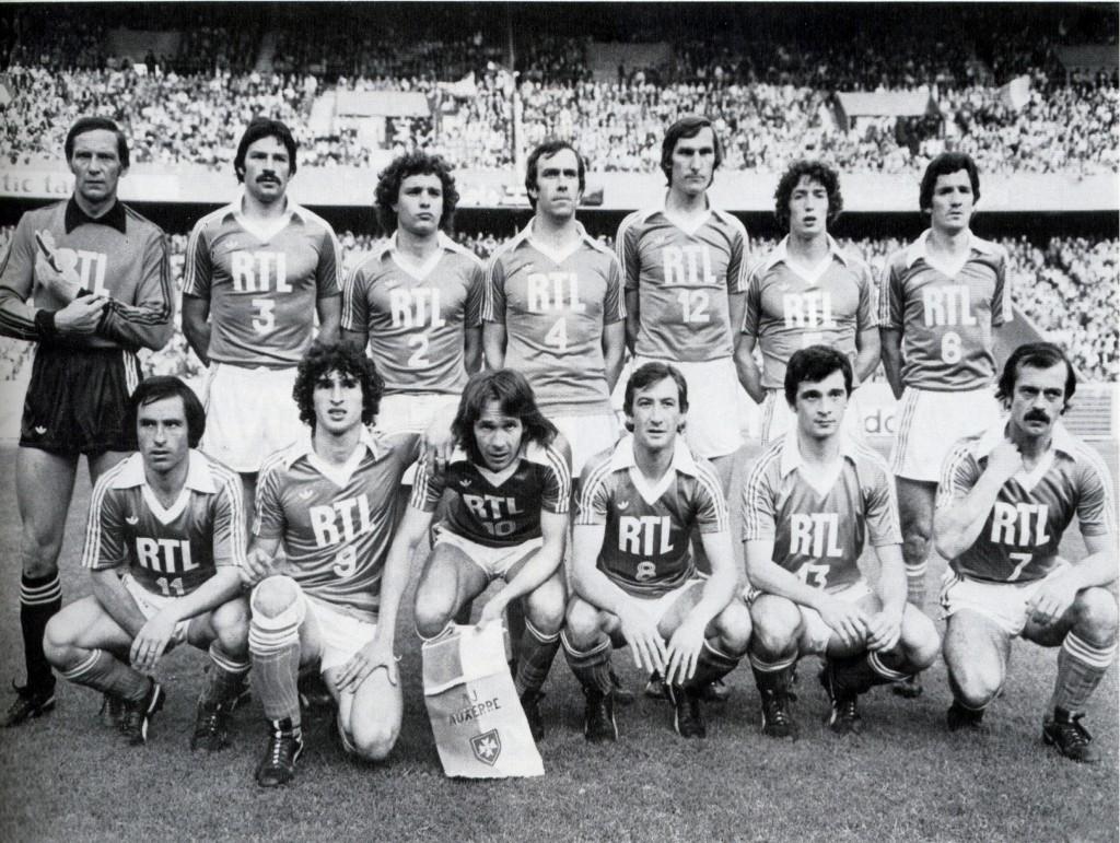L'AJA en finale de Coupe de France 1979