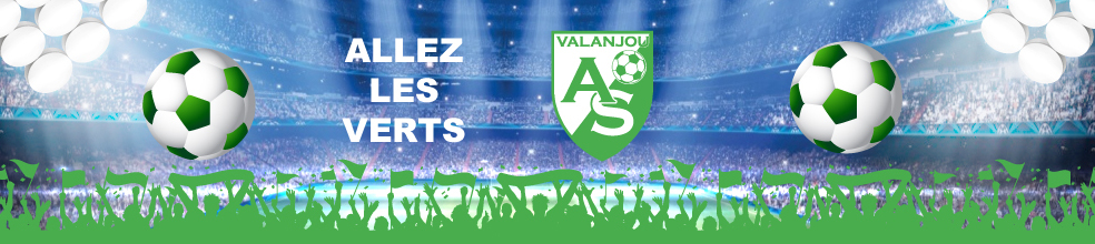 Site Internet officiel du club de football Association Sportive de Valanjou