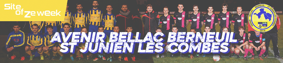 AVENIR BELLAC BERNEUIL St JUNIEN LES COMBES : site officiel du club de foot de BELLAC - footeo