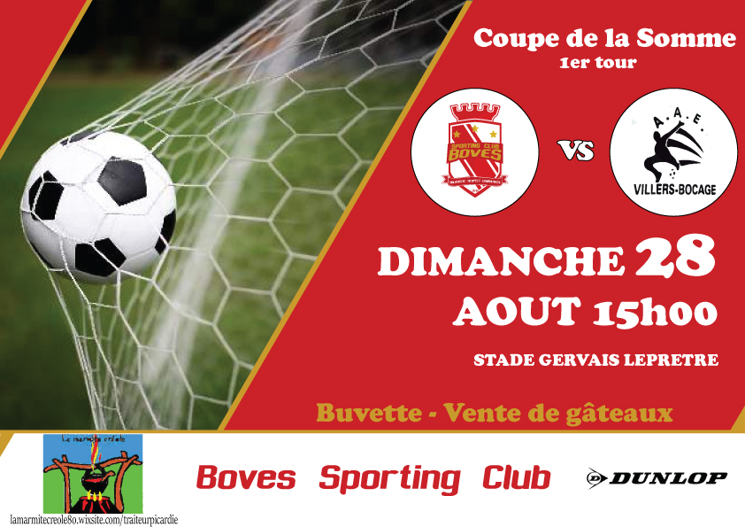 Boves SC contre Villers Bocage AAE