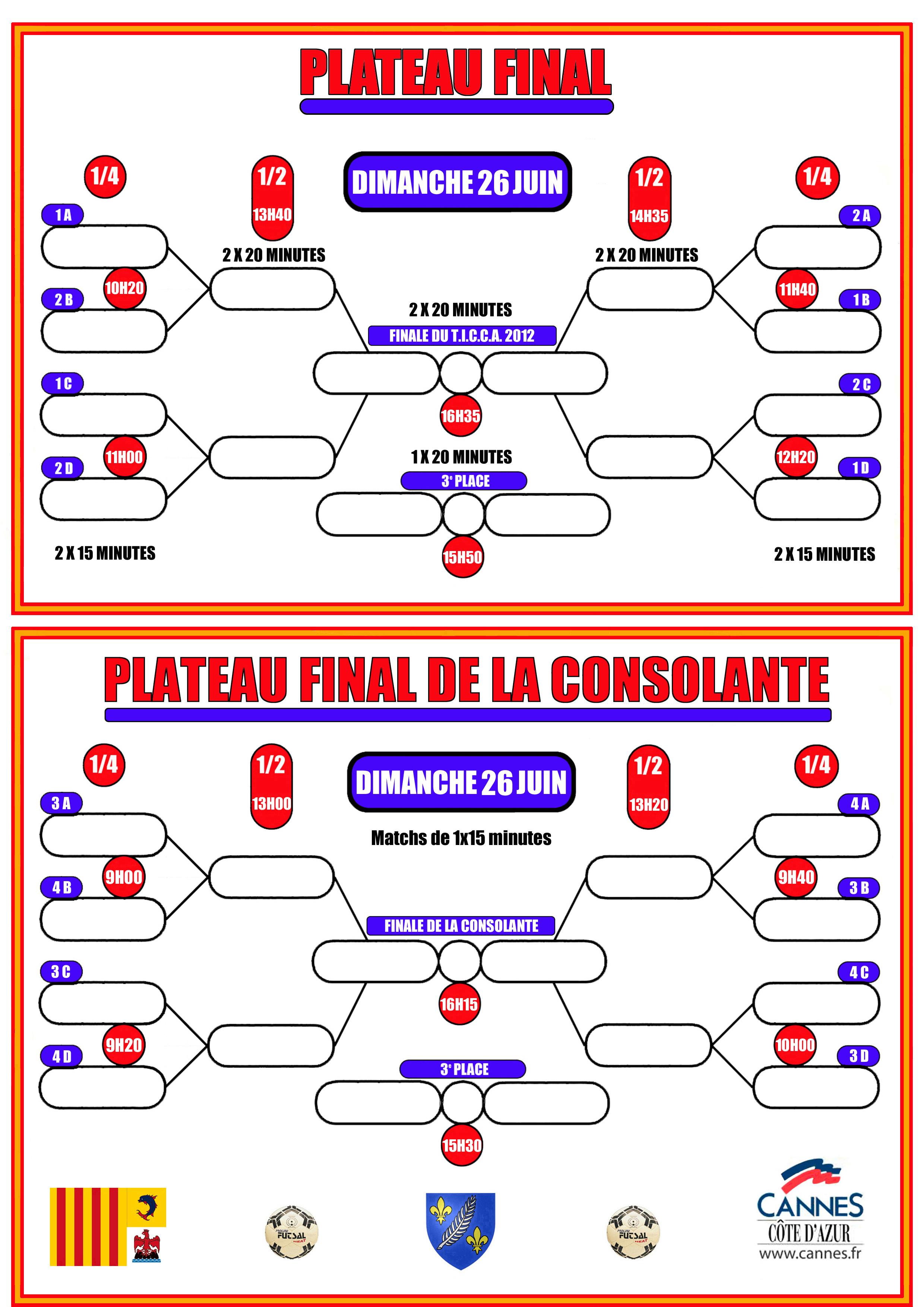 Plateau final 2012