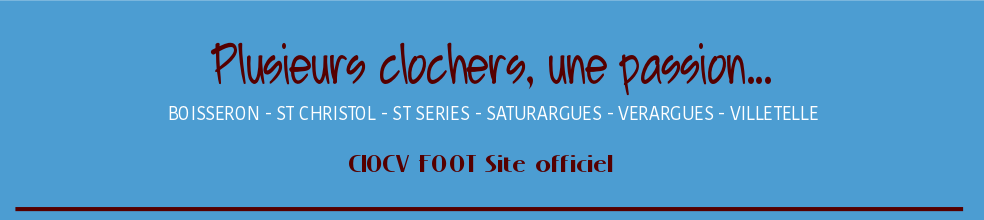 COURCHAMP - VIDOURLE : site officiel du club de foot de ST CHRISTOL - footeo