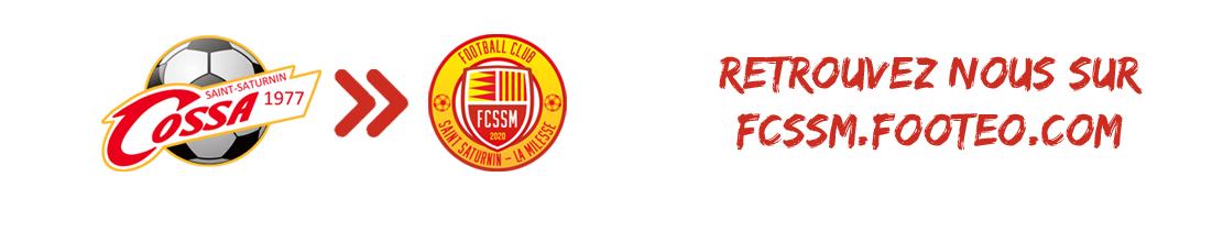 Site Internet officiel du club de football Club Omnisports SAINT SATURNIN ARCHE