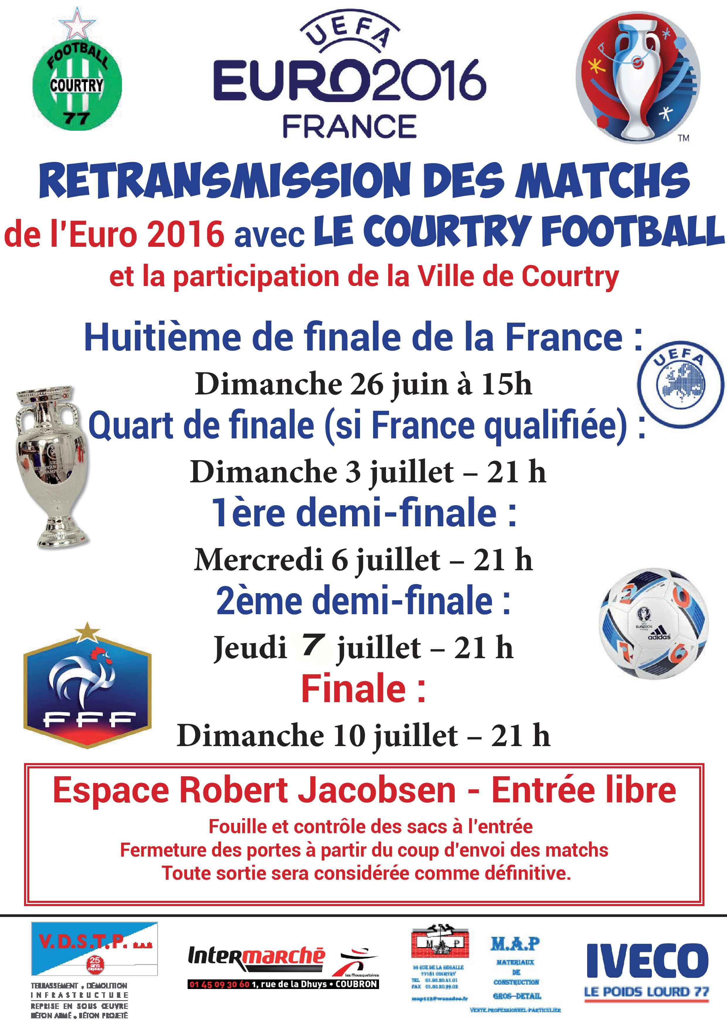 actualit u00e9 - retransmission du match france
