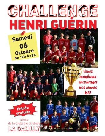 Challenge Henri Guérin édition 2012-2013