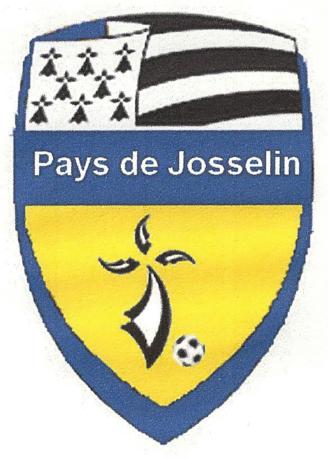 Nouveau logo officiel du Groupement des Jeunes du Pays de Josselin