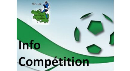 Info compétition de football