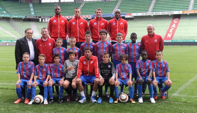 Équipe U13 A du Stade Malherbe de Caen - saison de football 2012/2013
