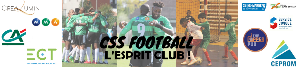 CLAYE-SOUILLY SPORTIF FOOTBALL (C.S.S. FOOTBALL) : site officiel du club de foot de CLAYE SOUILLY - footeo