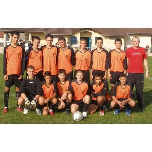 15 ans équipe 1