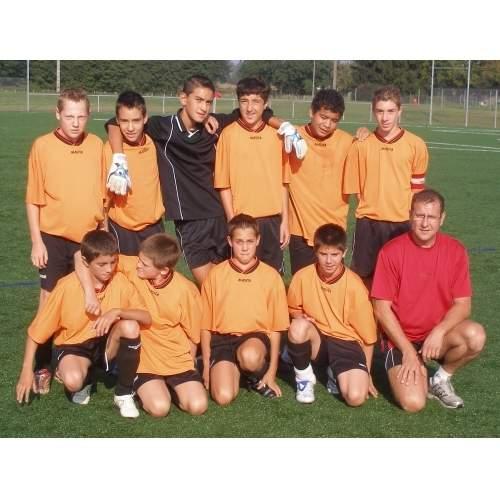 15 ans équipe 2