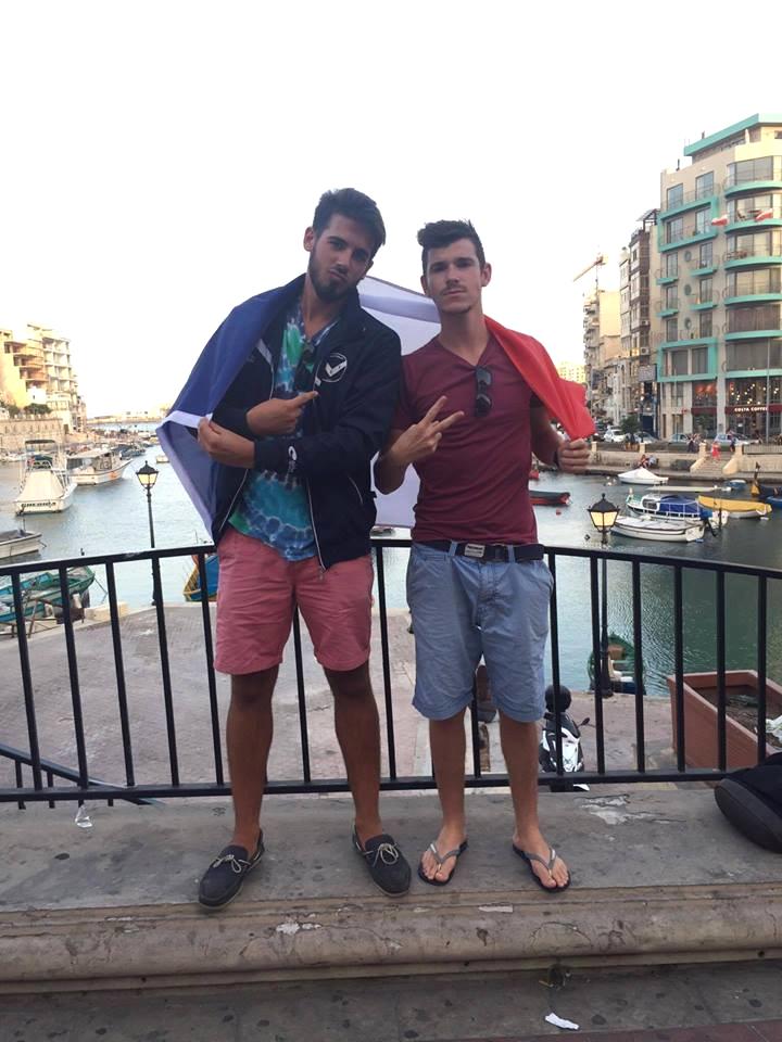 le SWEAT du CS VILLEDIEU à MALTE
