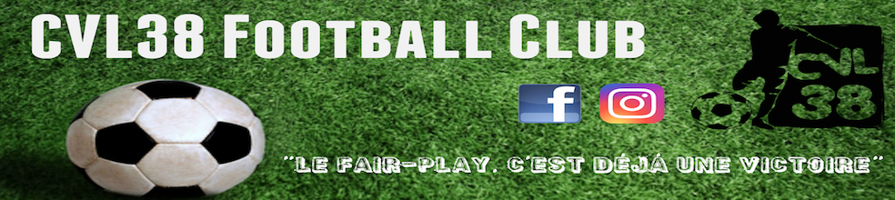 Site Internet officiel du club de football CVL 38 Football Club