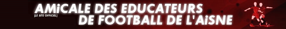 Site Internet officiel du club de football Amicale des Educateurs de Football de l'Aisne