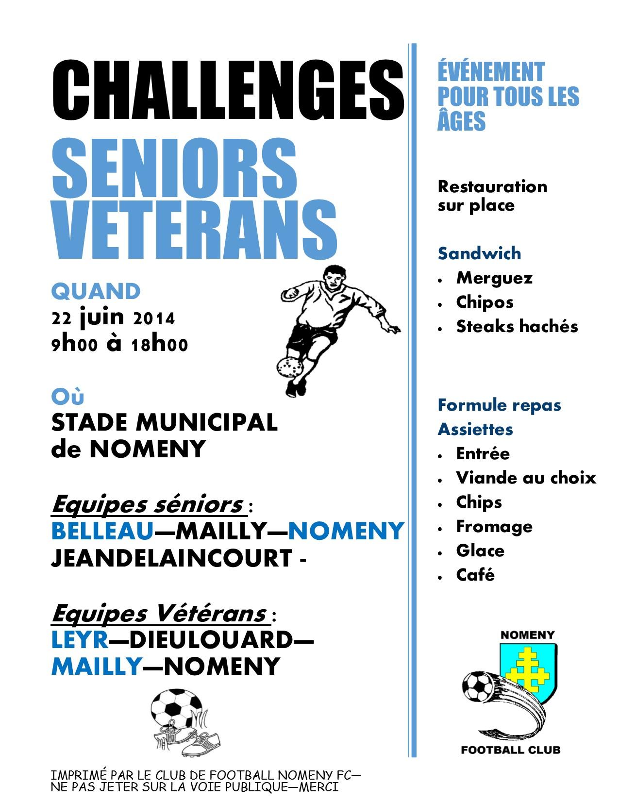 CHALLENGE seniors - veterans
