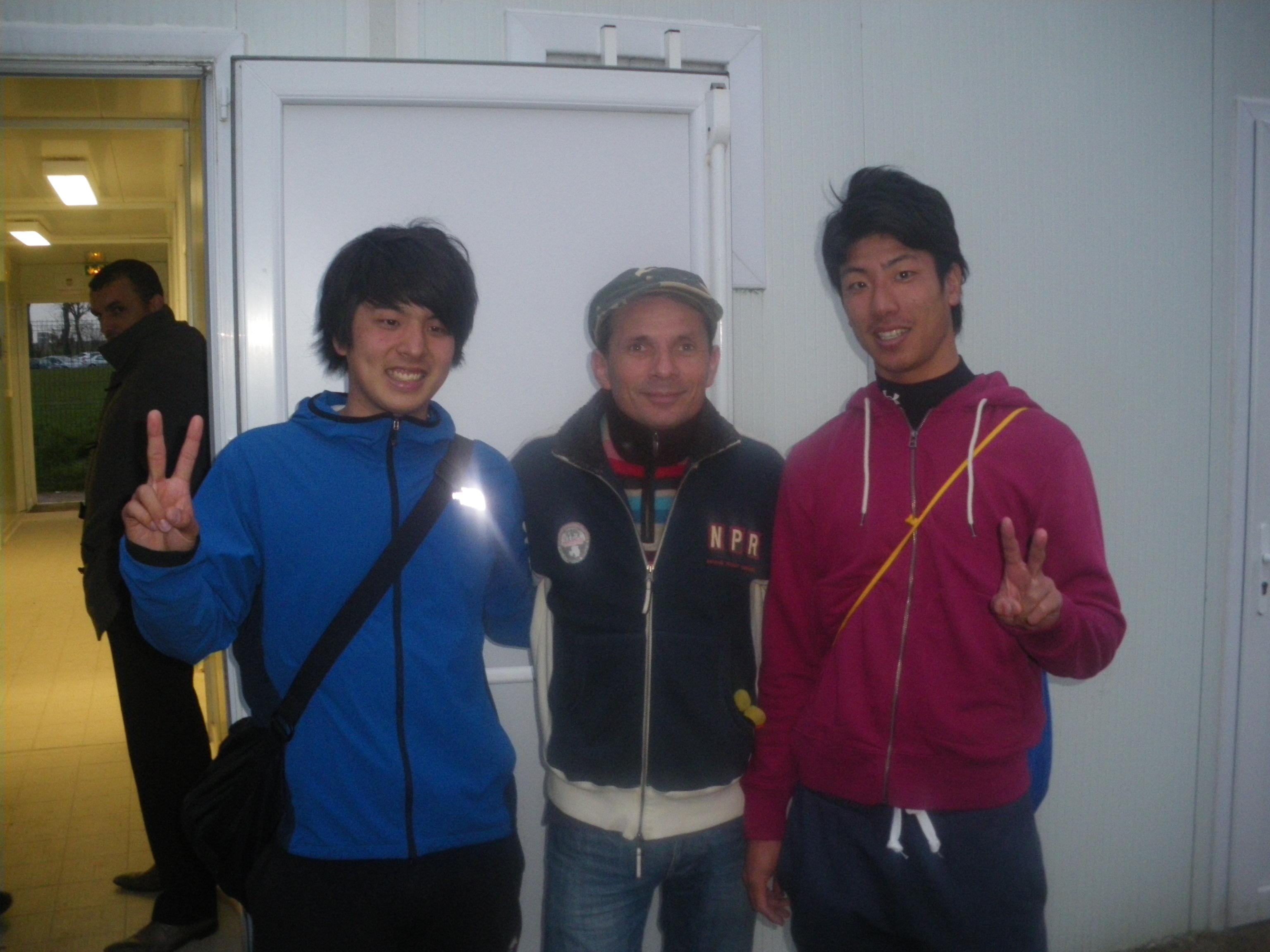 Vévé et nos amis japonais