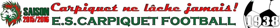 ELAN SPORTIF  DE CARPIQUET  FOOTBALL : site officiel du club de foot de CARPIQUET - footeo