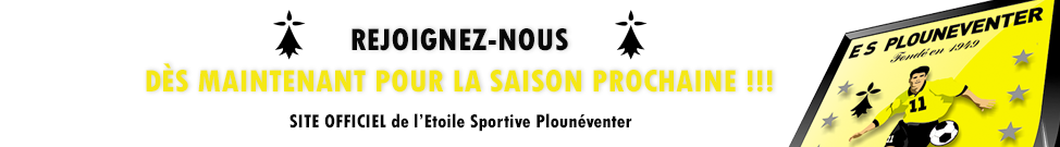 Etoile Sportive PLOUNEVENTER : site officiel du club de foot de PLOUNEVENTER - footeo