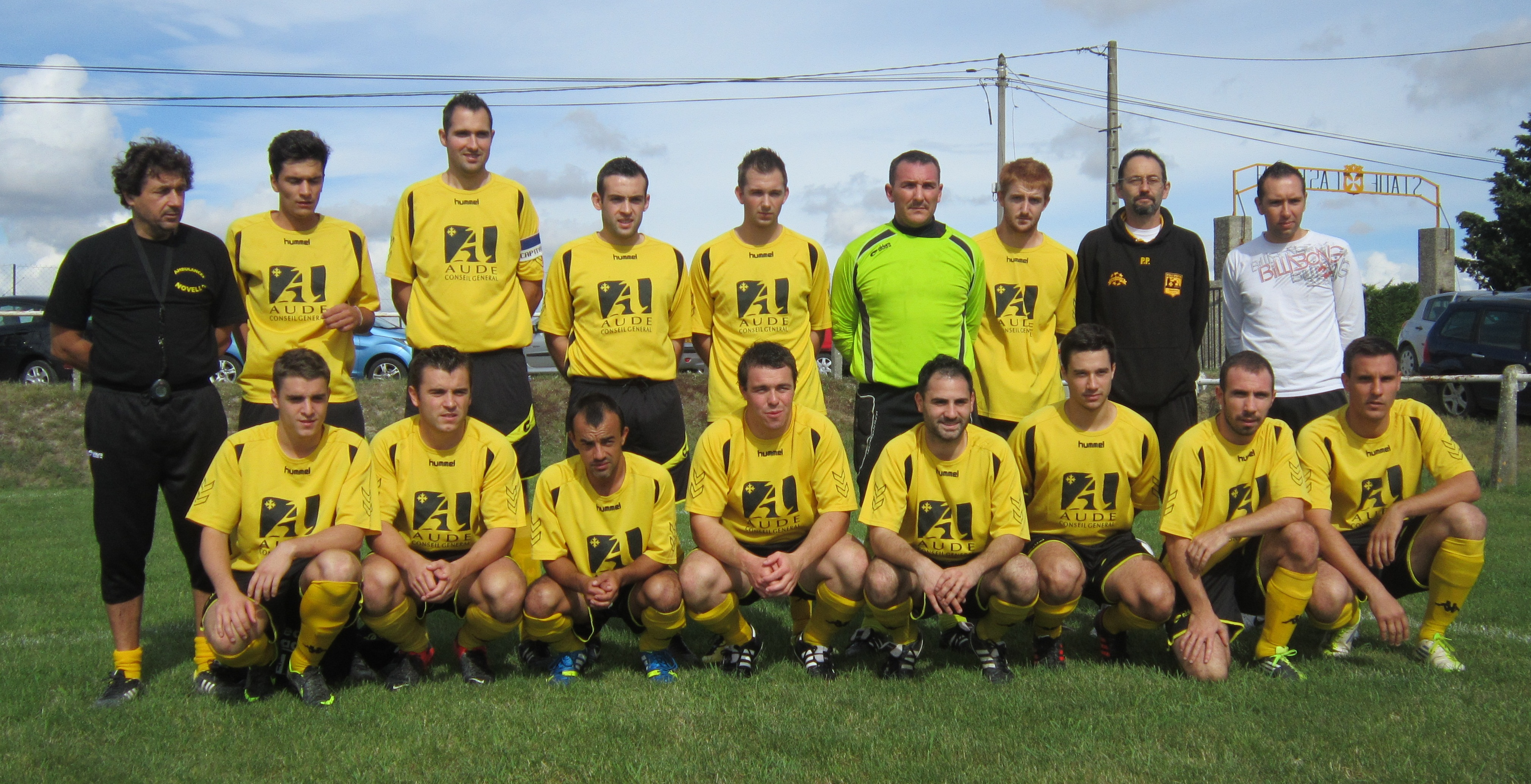 Equipe FANJEAUX 06-10-2013