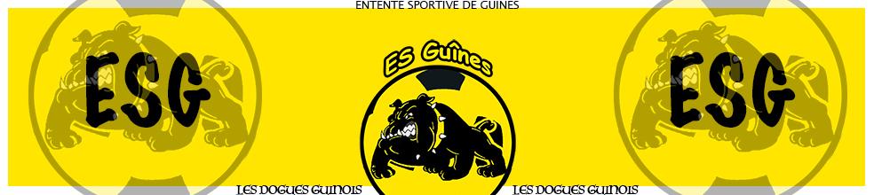 Site Internet officiel du club de football ES GUINES JEUNES